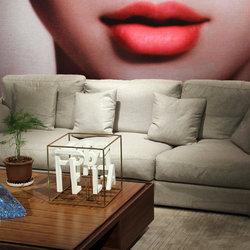 博莱家具 P012085 四人沙发