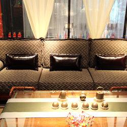 梨歌家具 B1803-4 四人沙发