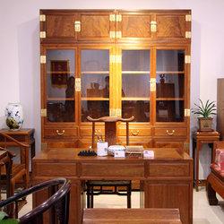 新荣红木 书柜