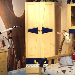 蓝蓝部落 两门衣柜
