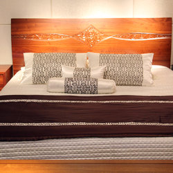 一品木阁 双人高箱床