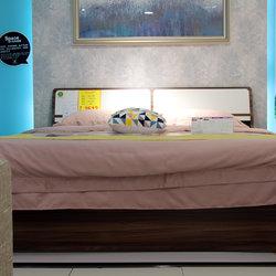 五木家具 高箱双人床