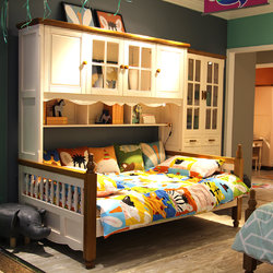 可爱多 M312 书柜床