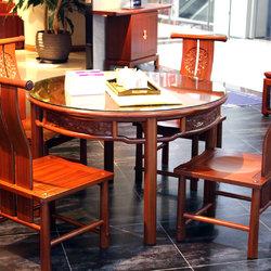 一品木阁 一桌四椅