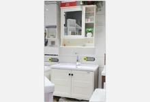 华艺卫浴现代时尚橡胶木浴室柜特价2088元