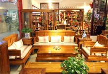 紫福堂刺猬紫檀沙发六件套 特价39800元