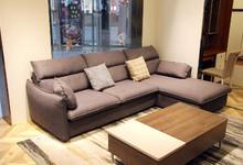 意风家具北欧小户型布艺转沙发4580元