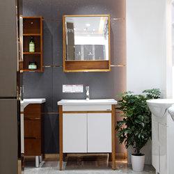 法恩莎卫浴 红橡木 浴室柜