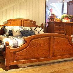 米勒小镇 双人床