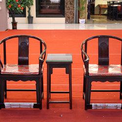 华美红木 圈椅