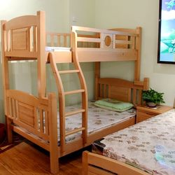 南丰 榉木床887+床垫