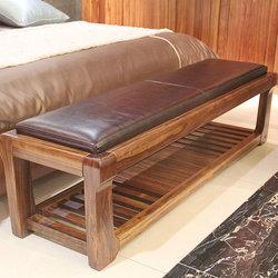 赖氏家具 WJ-V01 床前凳