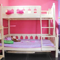 夏令营  1.35城堡木屋子母床