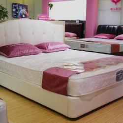 穗宝 S0012牛皮床+床垫