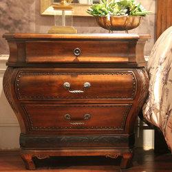 华美法罗 3086-302法式床头柜
