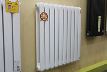 太阳花600钢质散热器限时促销93元/组